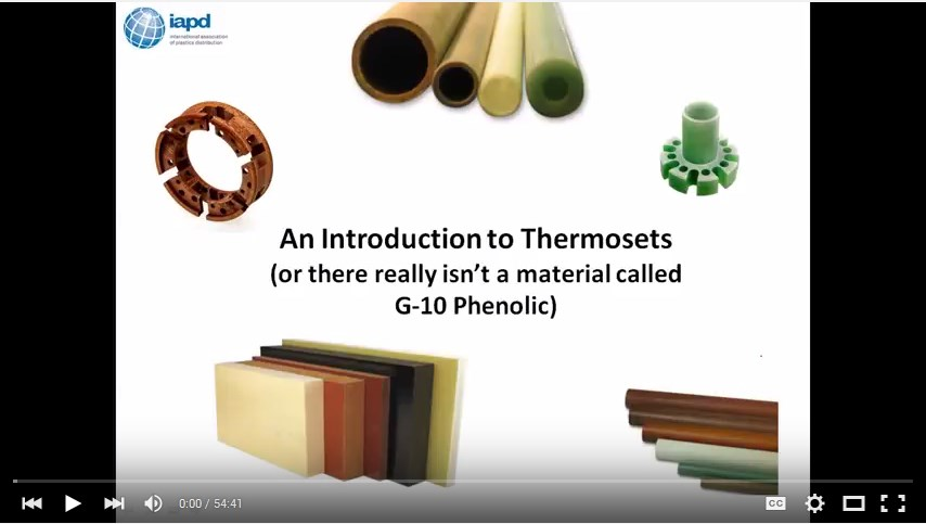 IAPD Webinar: An Introduction to Thermosets