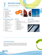 Top 26 Markets for Plastics: Alternative Energy